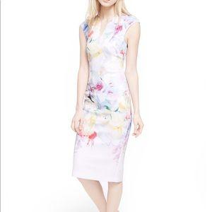 • Ted Baker • Bathany Hanging Garden Dress 5 XL